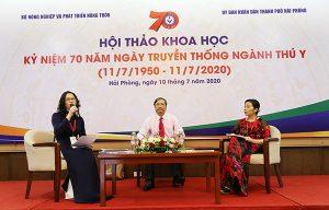 Hội thảo khoa học chuyên đề ứng dụng công nghệ cao trong lĩnh vực Thú y của Việt Nam